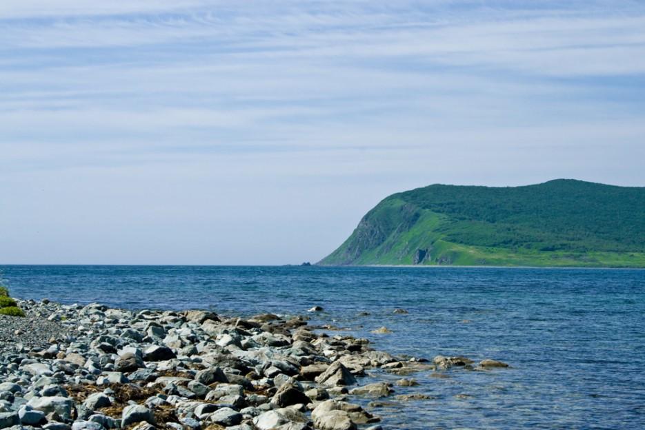 На берегу Сихотэ-Алинского заповедника, так знакомого нам из учебников географии Приморского края.   Сияние северного Приморья