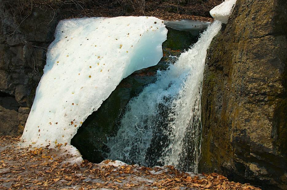 Верхний каскад водопадов | Кравцовские водопады