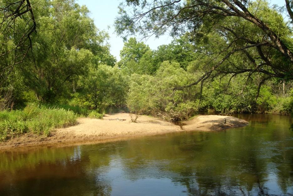 Маленькая речка, маленький плес. Лесозаводск   Природа в Приморье