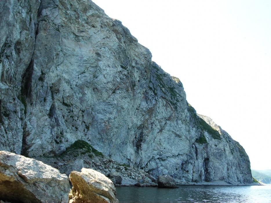 Великан-скала. Ольгинский район | Природа в Приморье