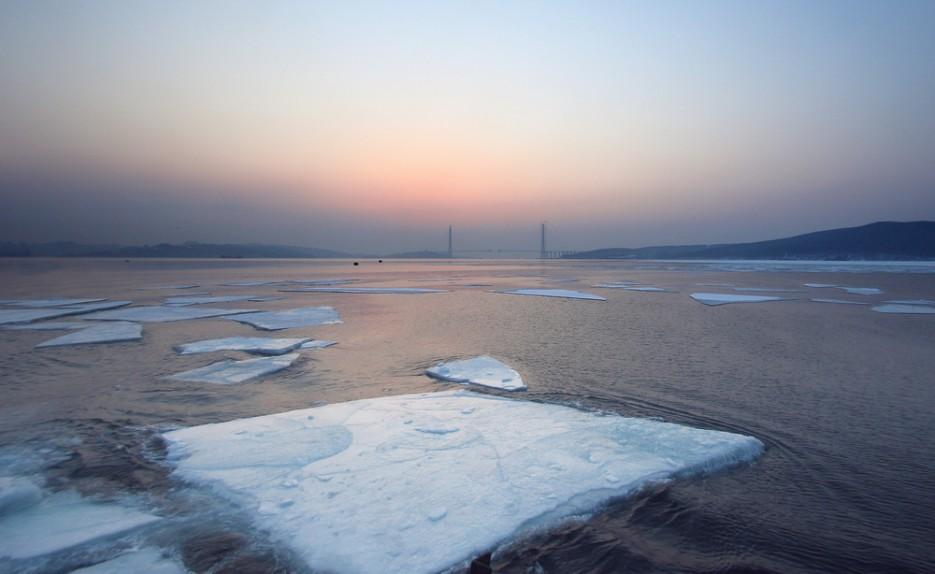 Льды в Босфоре-Восточном | Владивосток моими глазами
