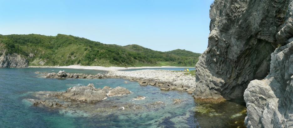 Грот. | Панорамы полуострова Гамов