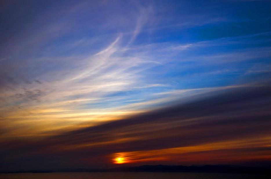 Краски неба. Амурский залив. | Природа Приморского края. Разное.