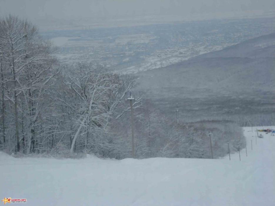 Фото 2260   «Восток» Арсеньев — первый снег