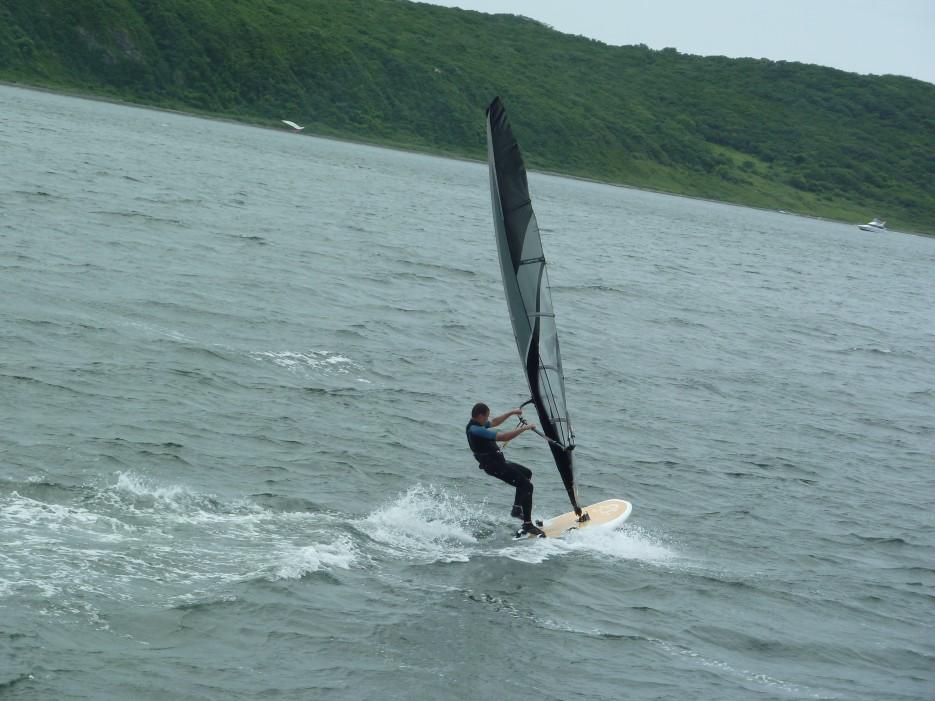 Волны, ветер, парус | Походы на остров Русский