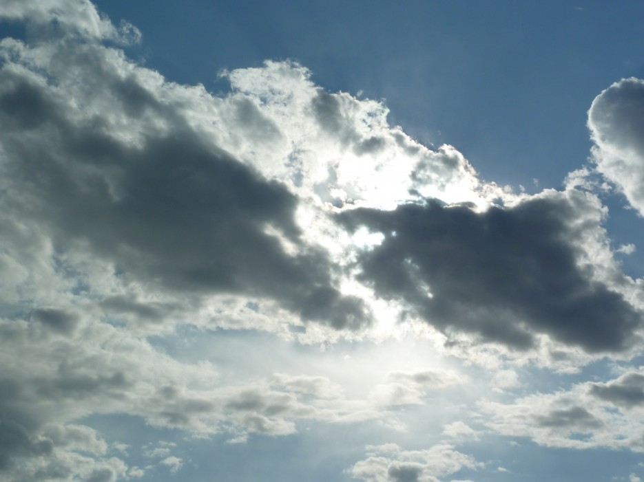 Небо, солнце, облака | Походы на остров Русский