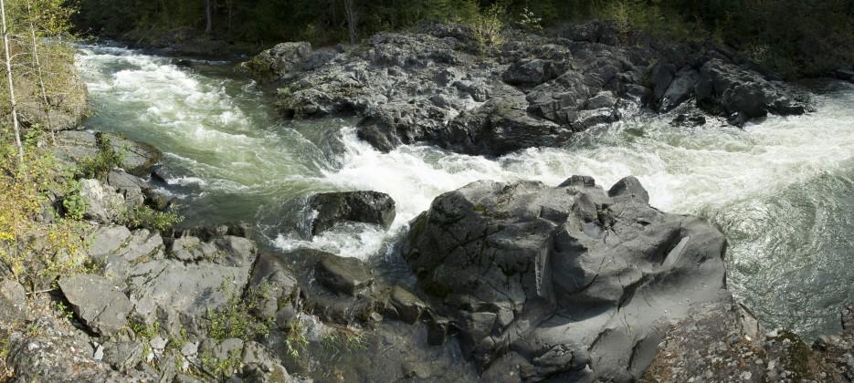 Река Кема порог Горелый. | Кема