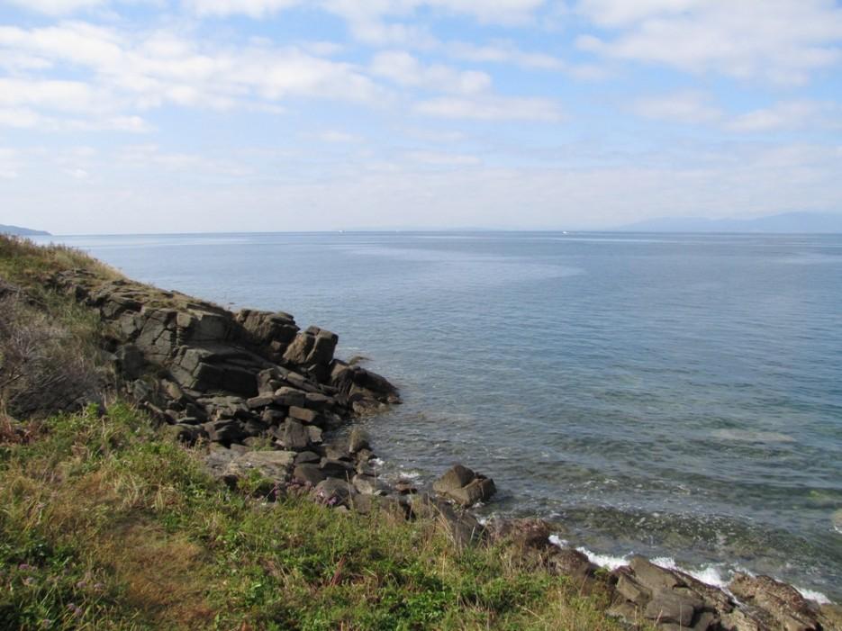 берег каменистый | мыс Игнатьева