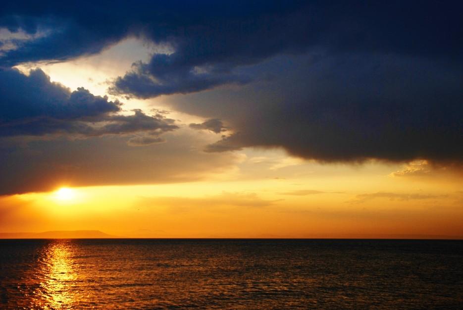 Вид на п-ов песчанный . Фото А.Тарасов  IWEDS.RU | Наше родное море