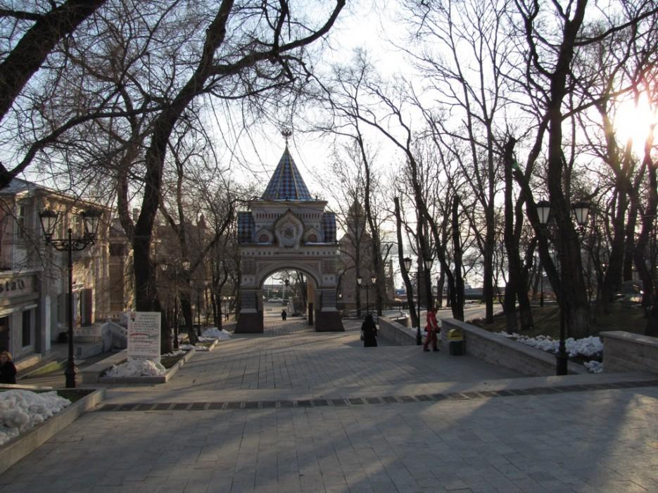 царские врата   Владивосток