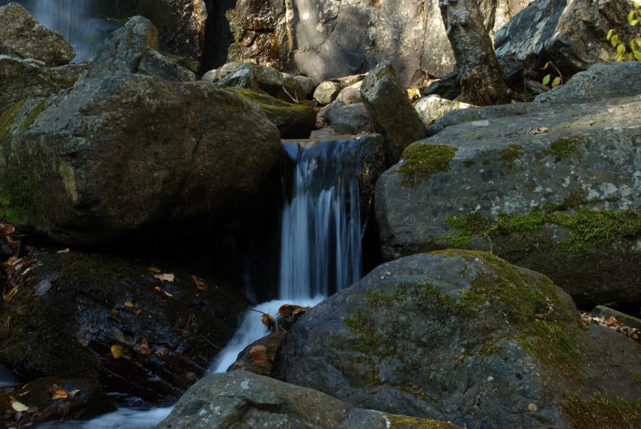 Микро водопад | Беневские (Еломовские) водопады