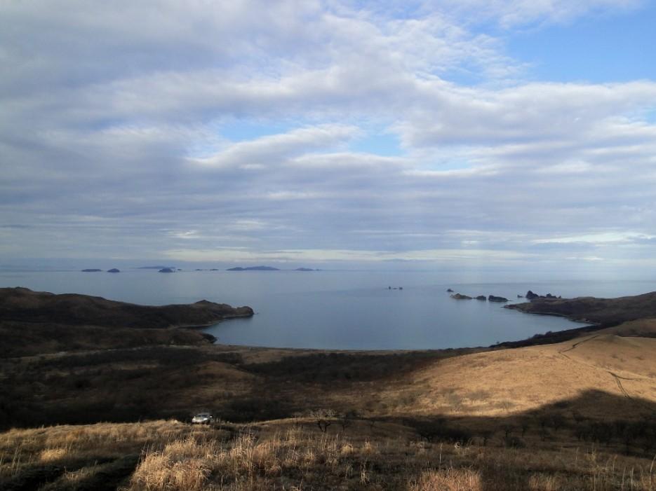 Бухты и острова. | Полуостров Гамова, Хасанский р-он.
