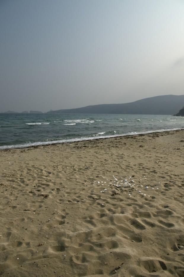 Вид с пляжа | Полуостров Гамов и бухта Витязь