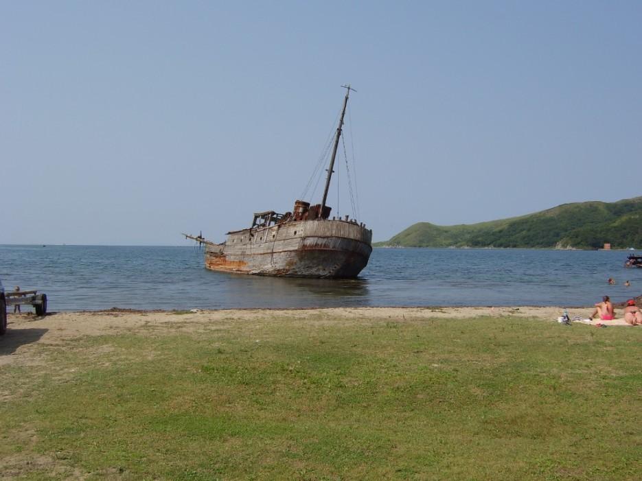 пираты не спаслись... | бухта Витязь