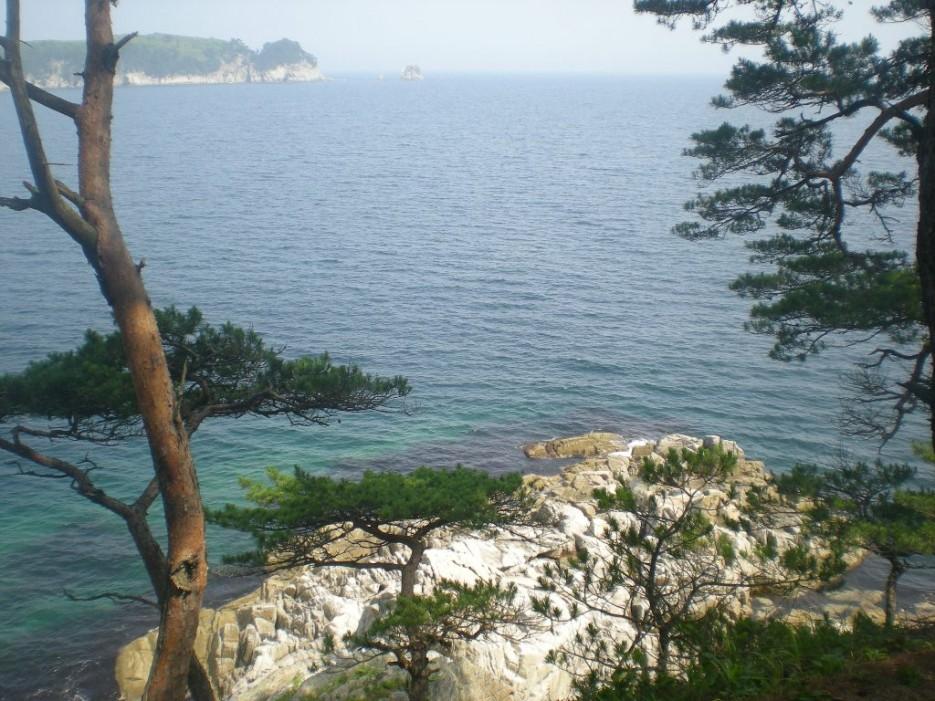 вид с острова | остров Томящегося сердца бухта Теляковского