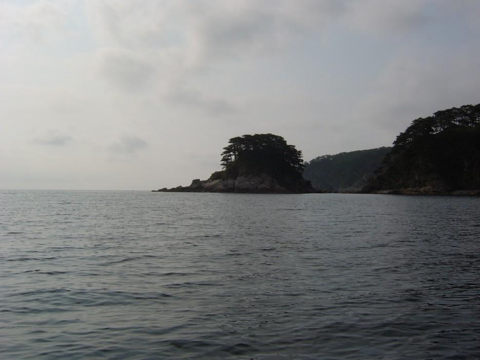 пасмурно... | остров Томящегося сердца бухта Теляковского