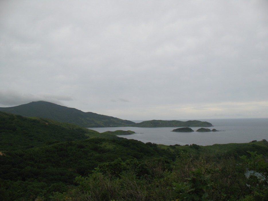 сопка Туманная на полуострове Гамова | Бухта Песчанка