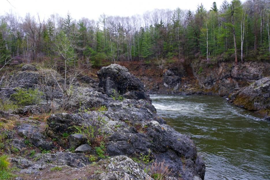 Пороги на реки | Весенняя Кема.