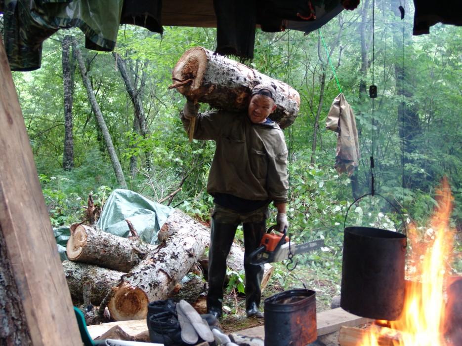 Лагерь у подножья горы Облачная. Чугуевский район. | Гора Облачная. Чугуевский район.
