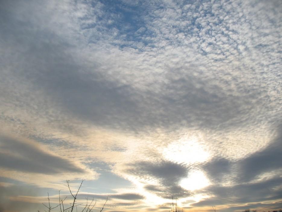 невероятные облака   село Ключевое Надеждинский район