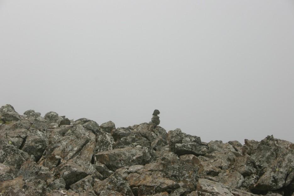 пирамидка, указывающая путь | гора Фалаза