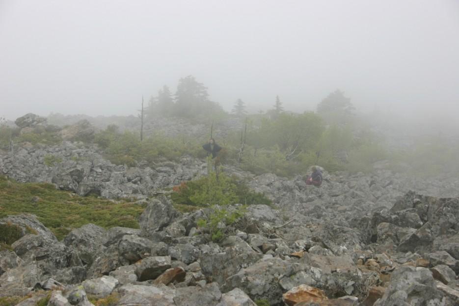 туман настигает | гора Фалаза