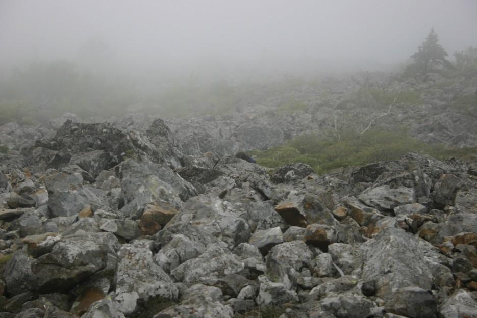осыпь | гора Фалаза