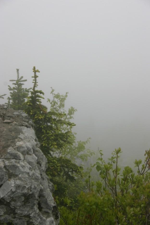 в облаке | гора Фалаза
