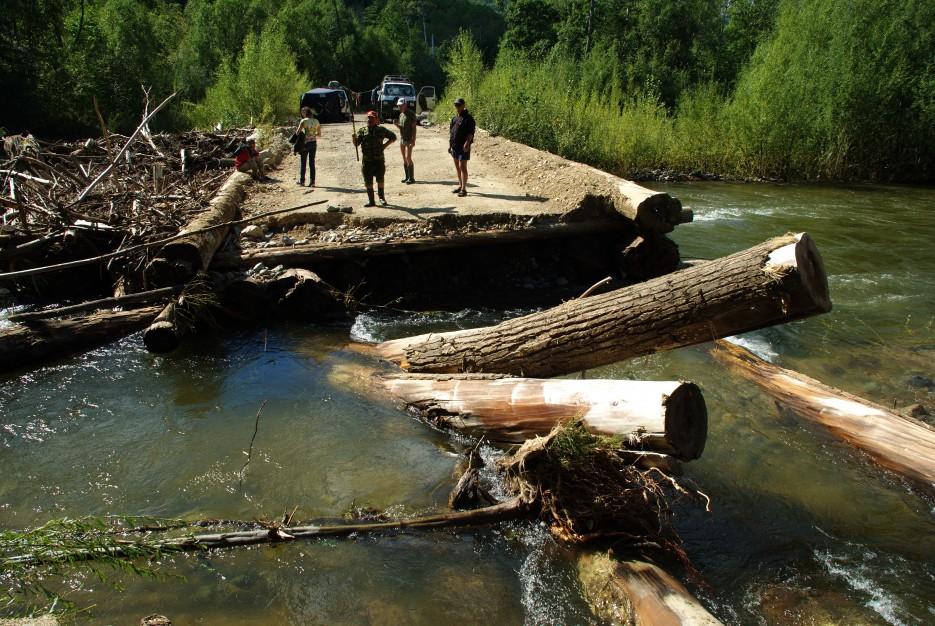Мост смыло | Кема