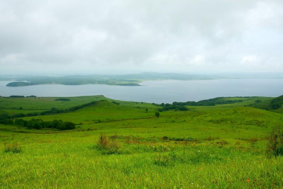 Виды с полуострова   Полуостров Краббе.