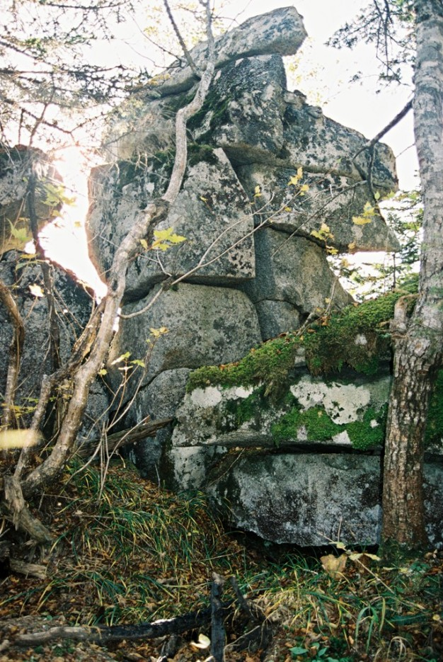 кладка   поход от Фалазы через Ливадийский хребет на Пидан