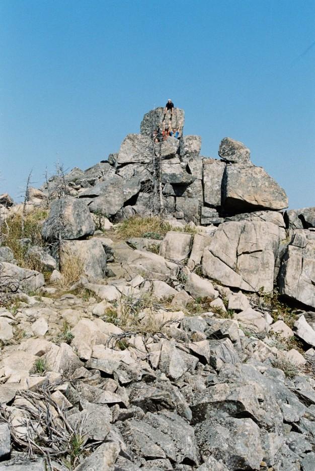 дай руку, брат!   поход от Фалазы через Ливадийский хребет на Пидан