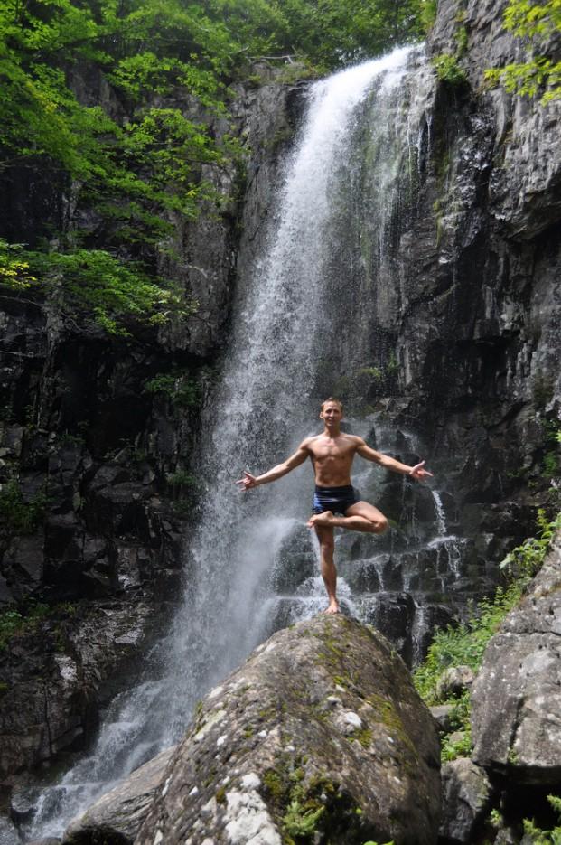 Медитация.   Еломовские (Беневские) водопады.