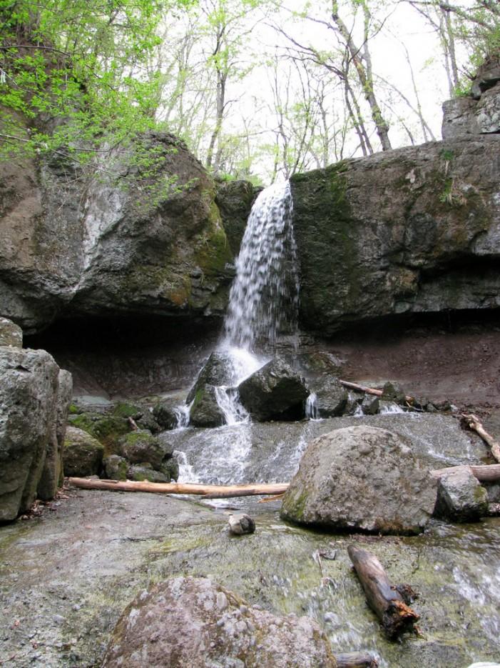 Первый водопад на ручье Кравцовском. | Кравцовские Водопады