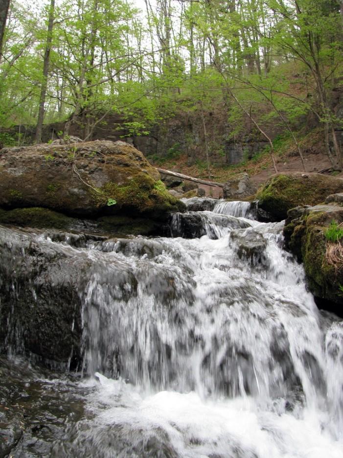 По мокрым ступенькам... | Кравцовские Водопады
