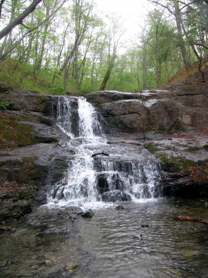 """Четвёртый Кравцовский водопад называется """"Мокрая лесенка"""" или """"Ступенчатый"""".   Кравцовские Водопады"""