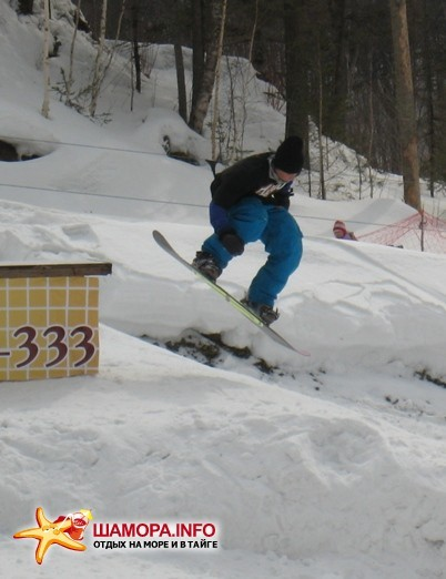 Фото 2747 | Соревнования по сноуборду Winter Force 2009