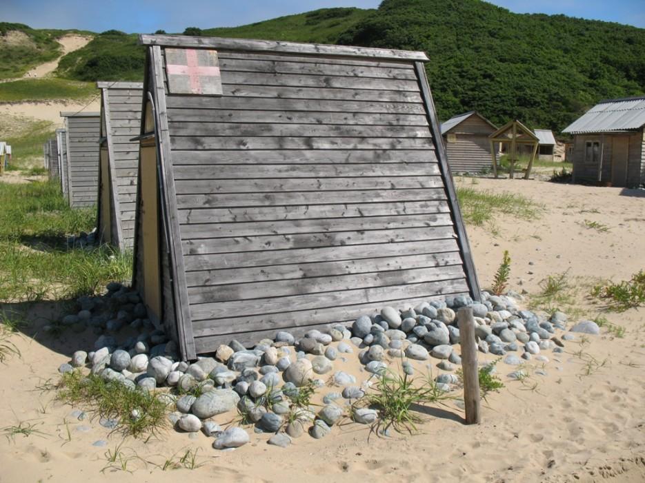 пустые домики   бухта Шепалова, Находка