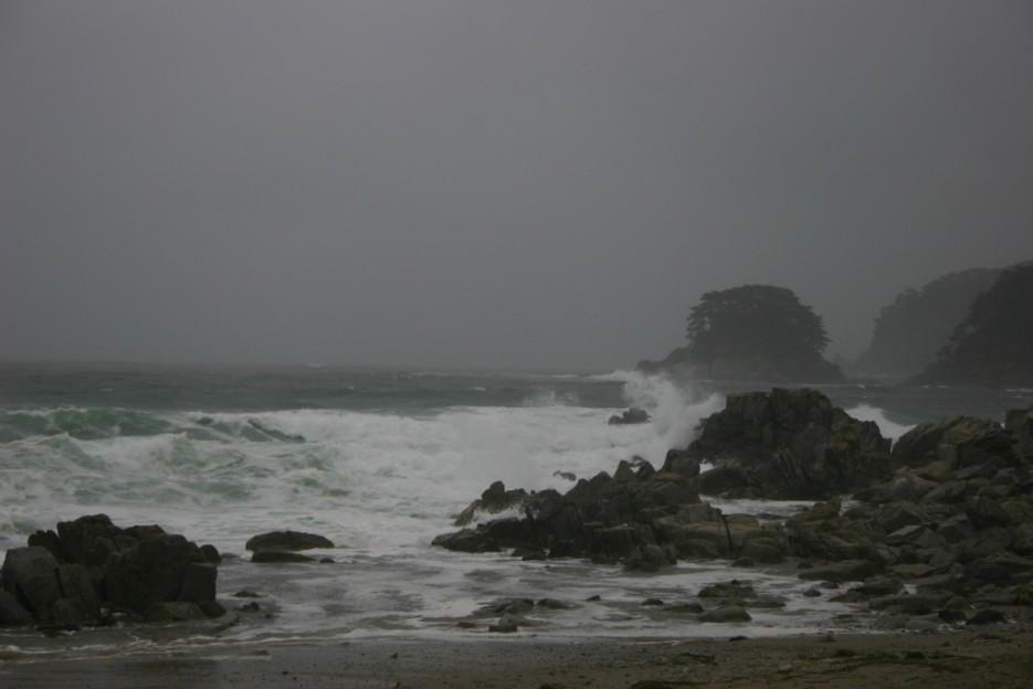 тайфун   тайфун в бухте Теляковского