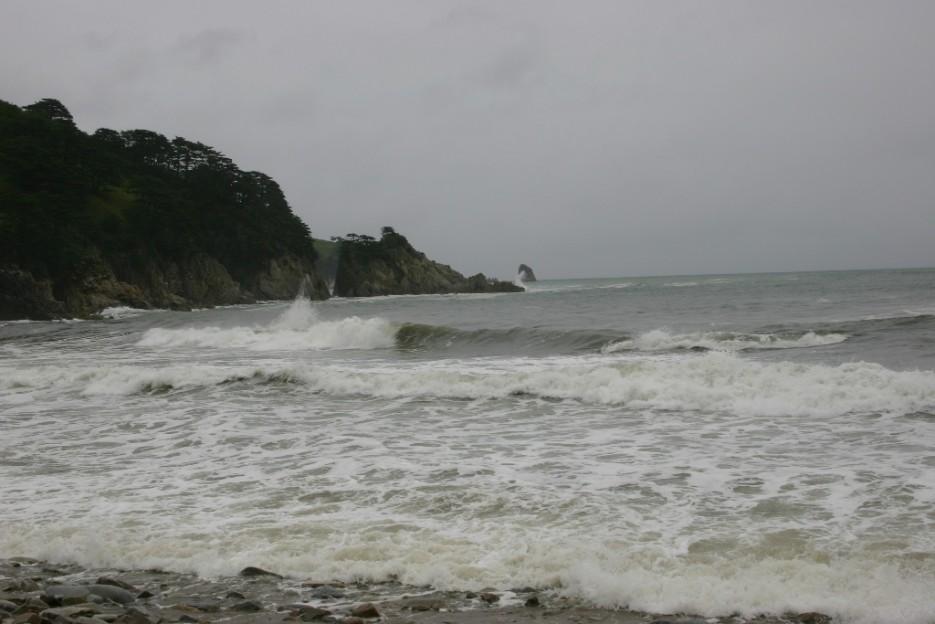 море кипит | тайфун в бухте Теляковского
