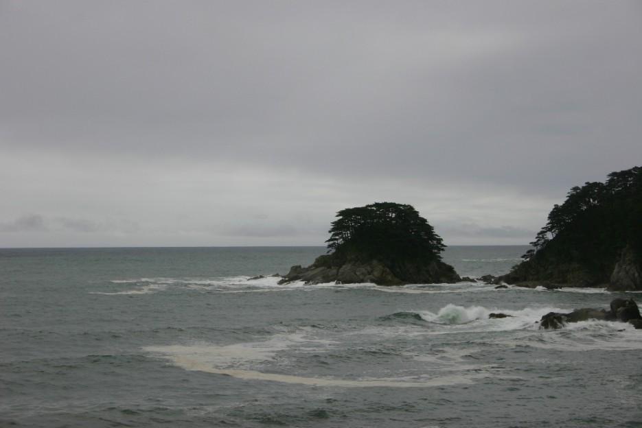 море успокаивается | тайфун в бухте Теляковского