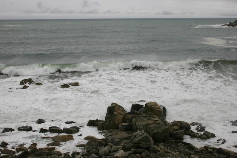 умытые камни | тайфун в бухте Теляковского