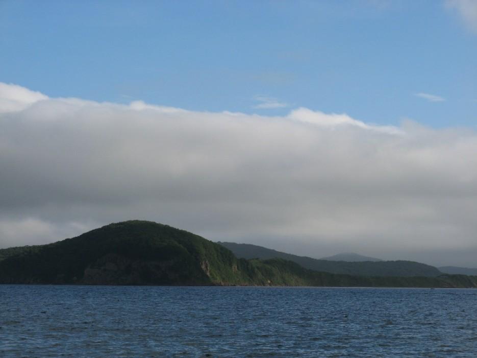 пелена облаков | мыс Игнатьева