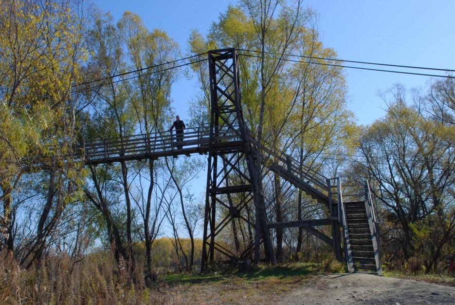 Лестница на мост | Новопокровка Приморский Край