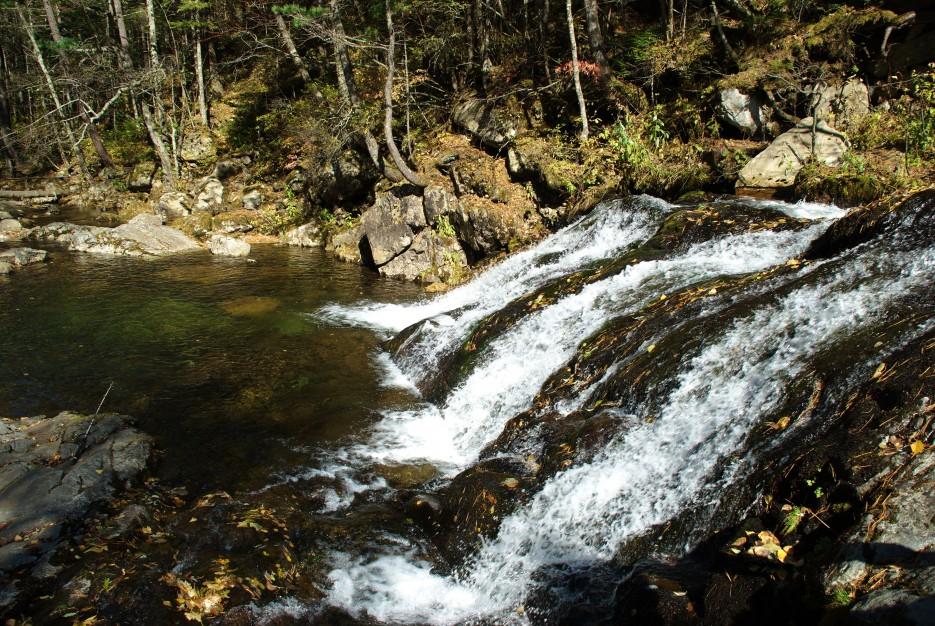 Водопад + заводь. | Ключ Смольный, гора Фалаза.