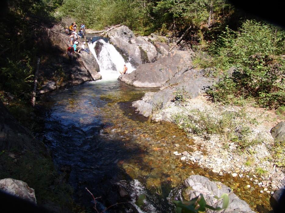 Водопады и пороги реки Милоградовка. Лазовский район. | Река Милоградовка. Ольгинский район.