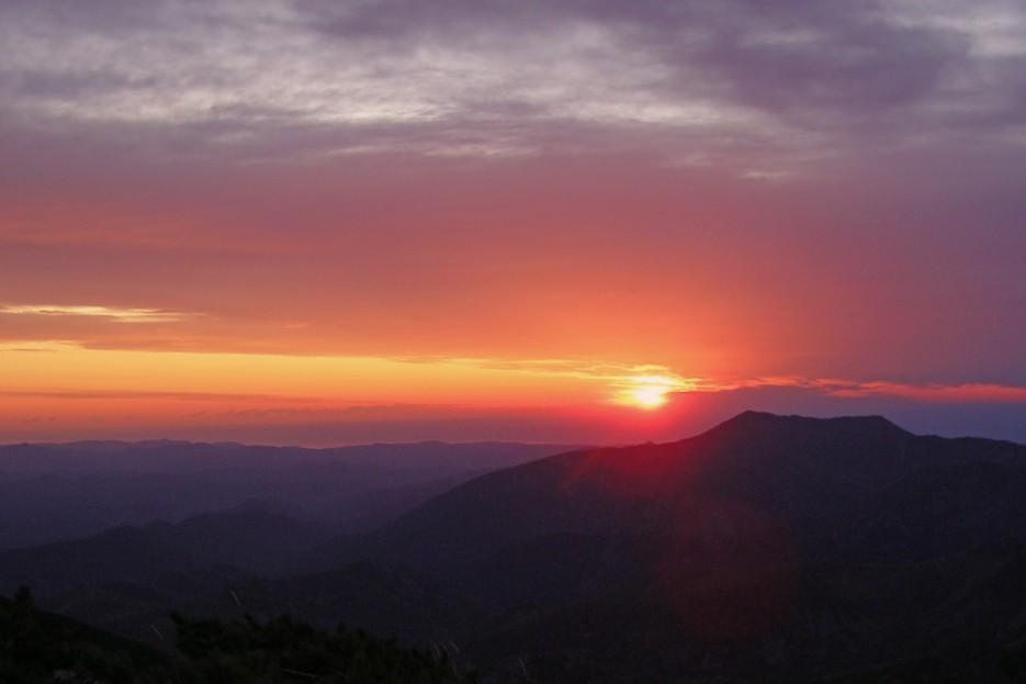 Рассвет на вершине г. Курортная (Тернейский р-н) | Горы