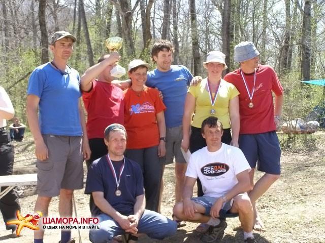 команда победитель и главный судья | Вешние воды 2009