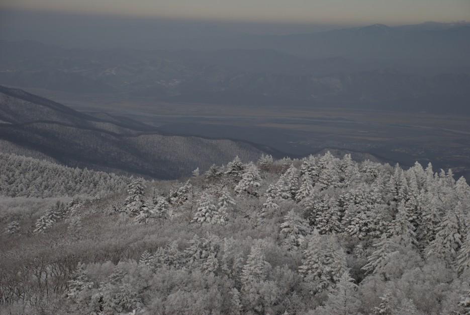 Вид сверху | Партизанский район, выс. 1010 гора Чёрный куст