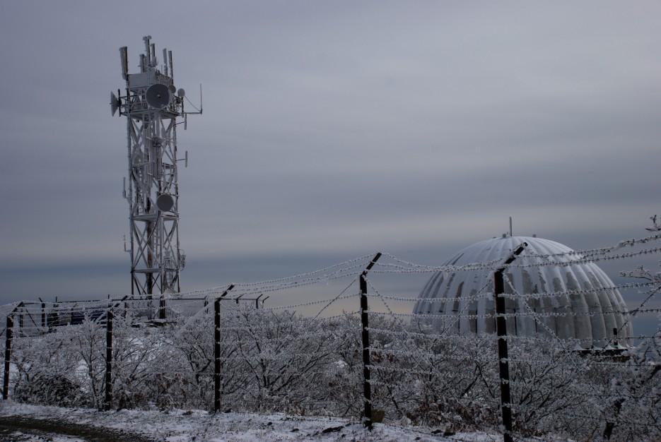 Вышка связи | Партизанский район, выс. 1010 гора Чёрный куст